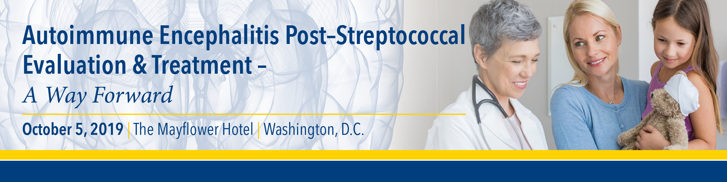 2019 Autoimmune Encephalitis Post Streptococcal Evaluation & Treatment; A Way Forward Banner