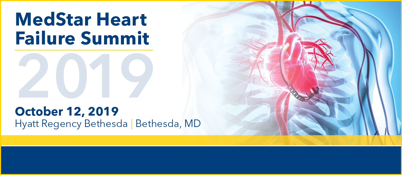 MedStar Heart Failure Summit 2019 Banner