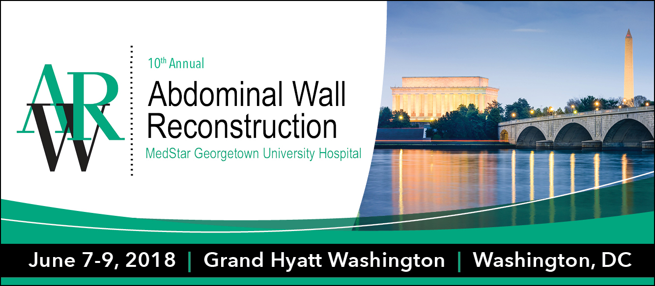 Abdominal Wall Reconstruction 2018 Enduring Material Banner