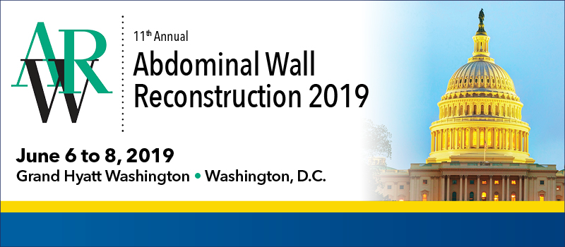 Abdominal Wall Reconstruction 2019 (AWR) Banner