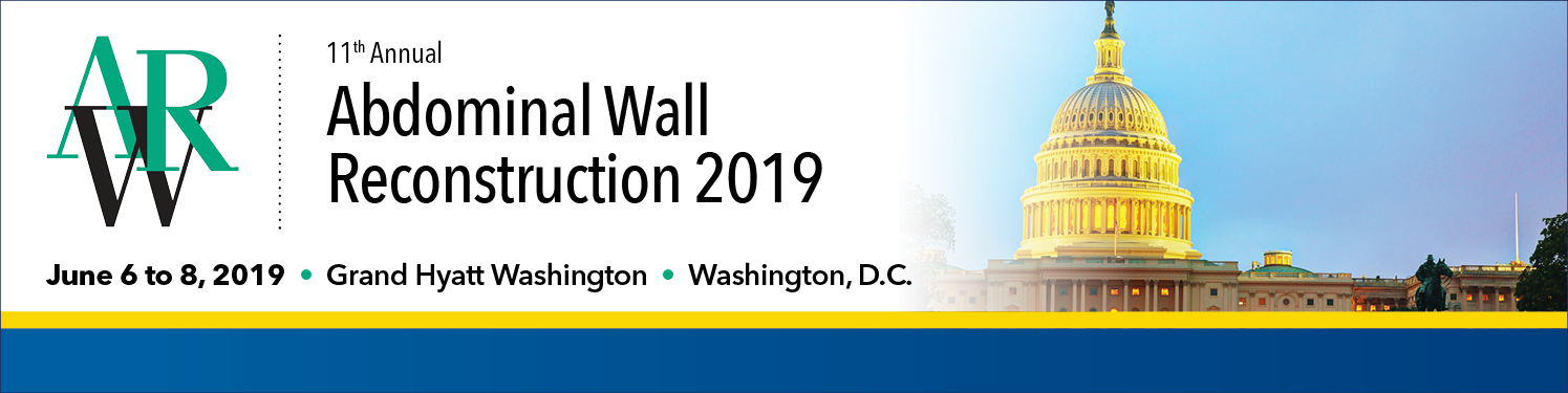 Abdominal Wall Reconstruction (AWR) 2019 Banner