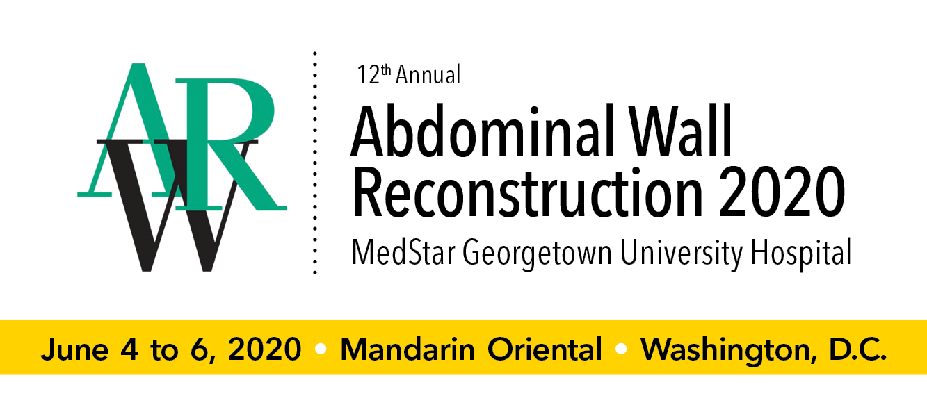 Abdominal Wall Reconstruction (AWR) 2020 Banner