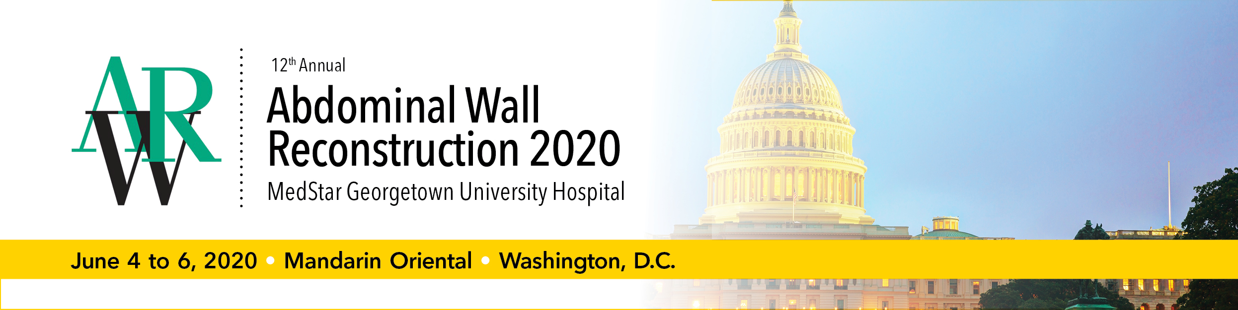 Abdominal Wall Reconstruction (AWR) 2020 Banner