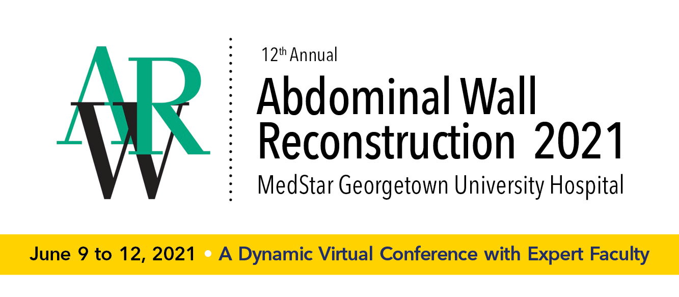 Abdominal Wall Reconstruction (AWR) 2021 Banner