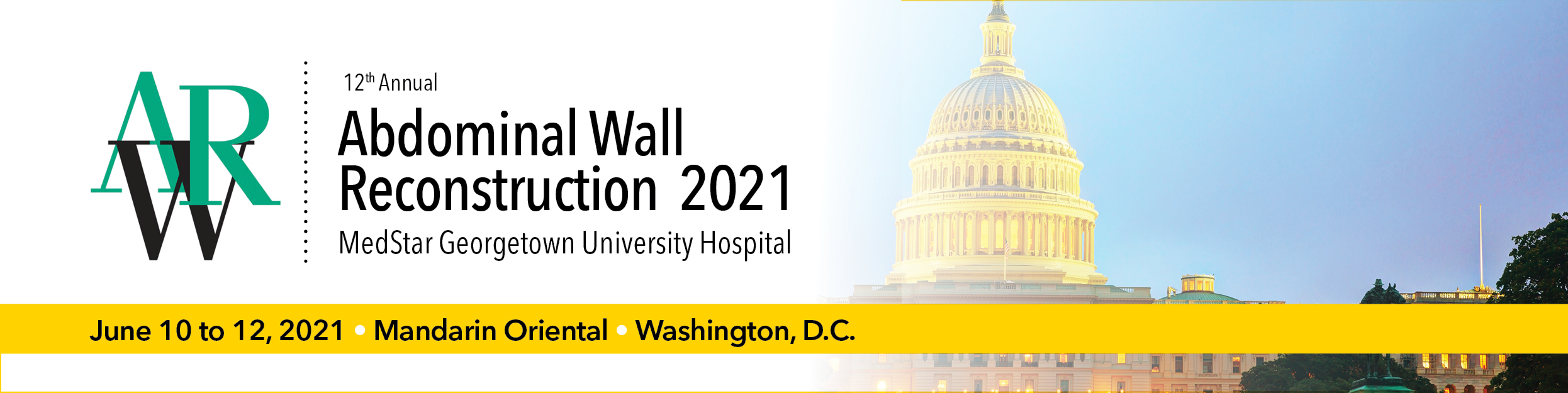 Abdominal Wall Reconstruction (AWR) 2021 Banner