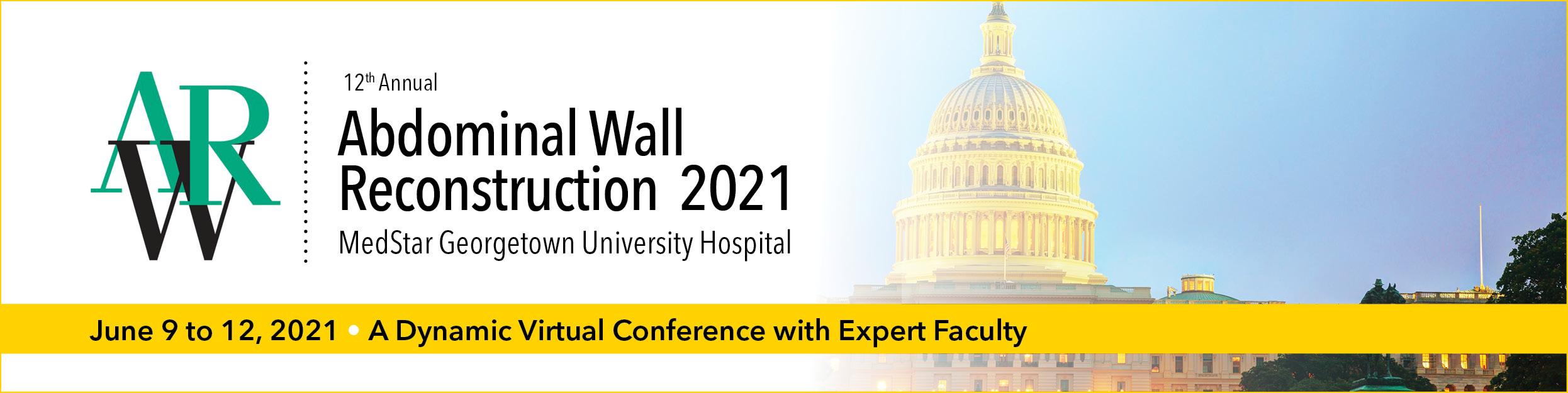 Abdominal Wall Reconstruction (AWR) 2021 - Internet Enduring Material Banner