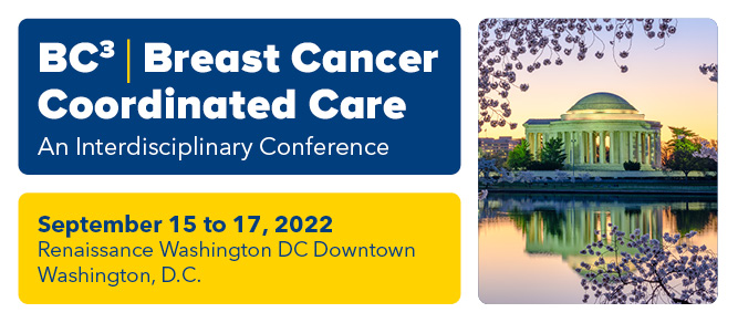Breast Cancer Coordinated Care 3 (BC3) 2022 Banner