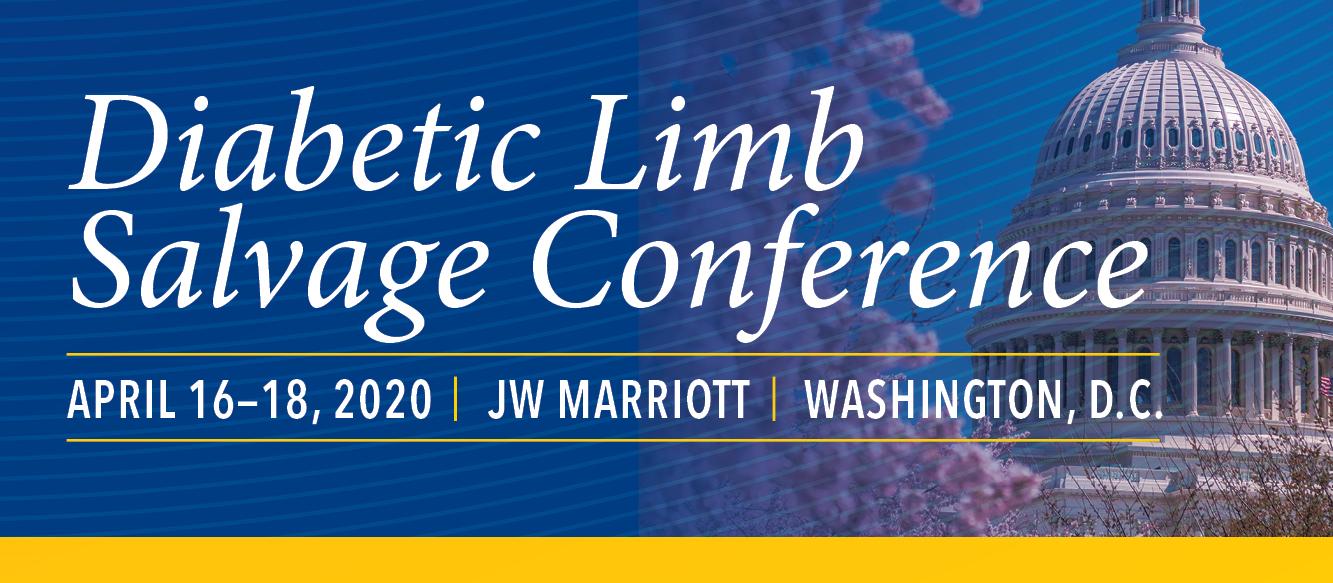 2020 Diabetic Limb Salvage (DLS) Banner