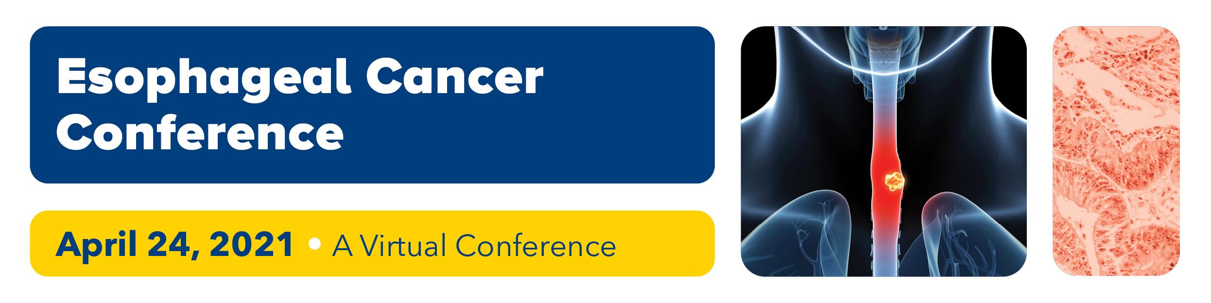 Esophageal Cancer Conference 2021 Banner