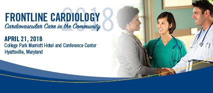 Frontline Cardiology 2018: Cardiovascular Care in the Community Banner