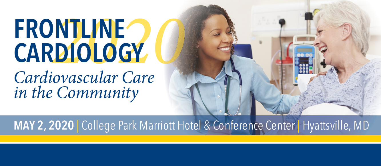 Frontline Cardiology 2020: Cardiovascular Care in the Community Banner