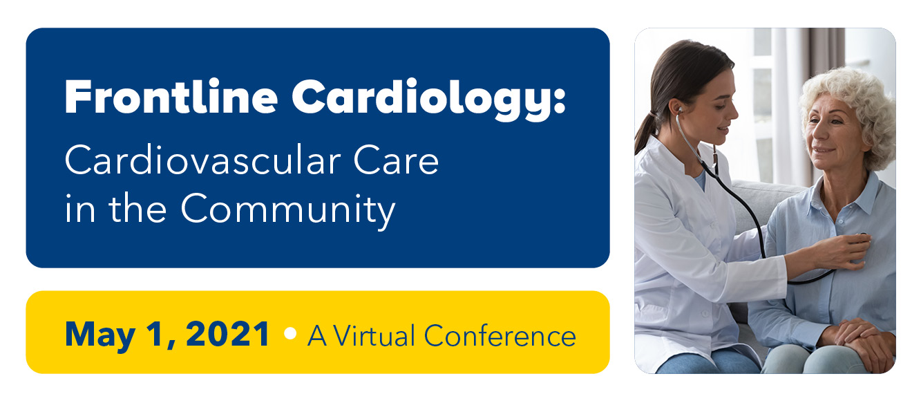 Frontline Cardiology 2021: Cardiovascular Care in the Community Banner
