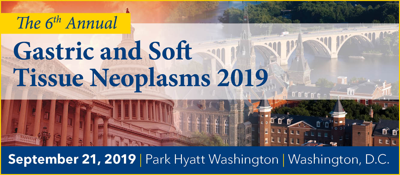 Gastric and Soft Tissue Neoplasms 2019 Banner