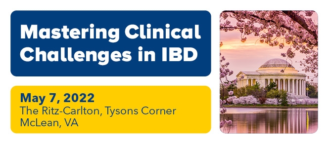 Mastering Clinical Challenges in IBD 2022 Banner