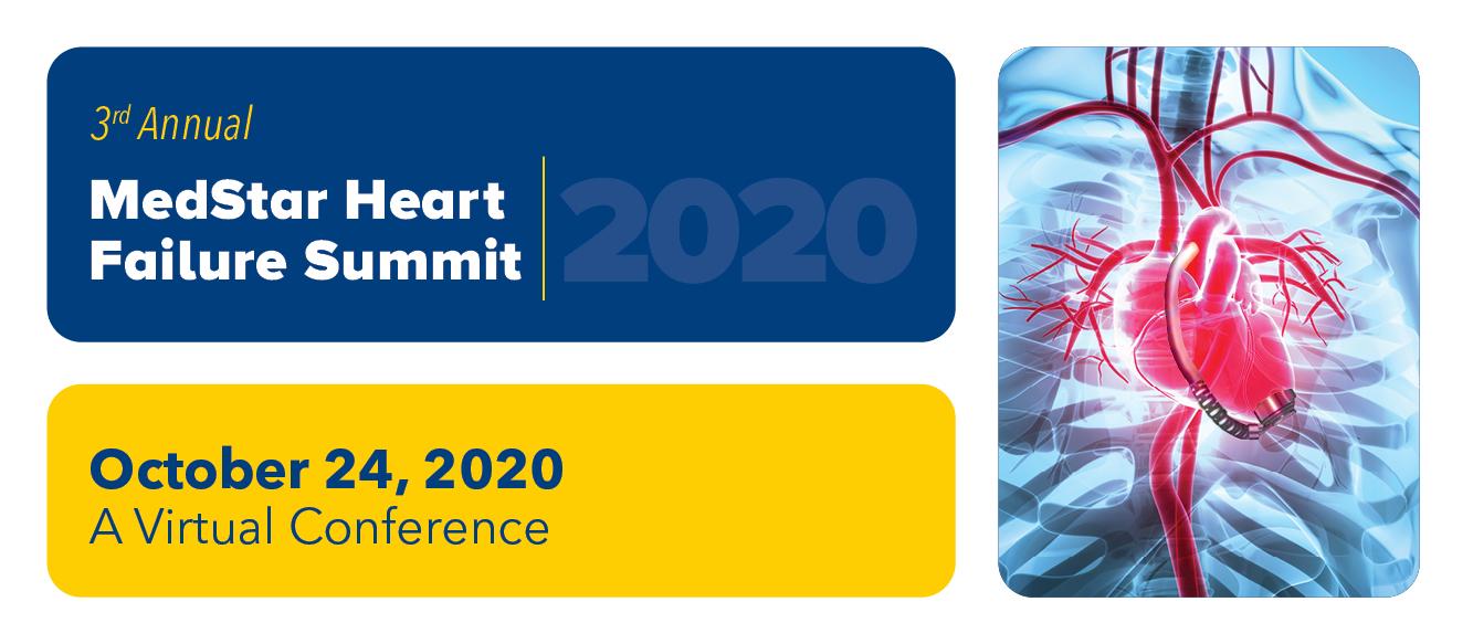 MedStar Heart Failure Summit 2020 Banner