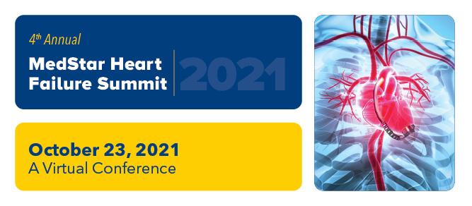 4th Annual MedStar Heart Failure Summit 2021 Banner
