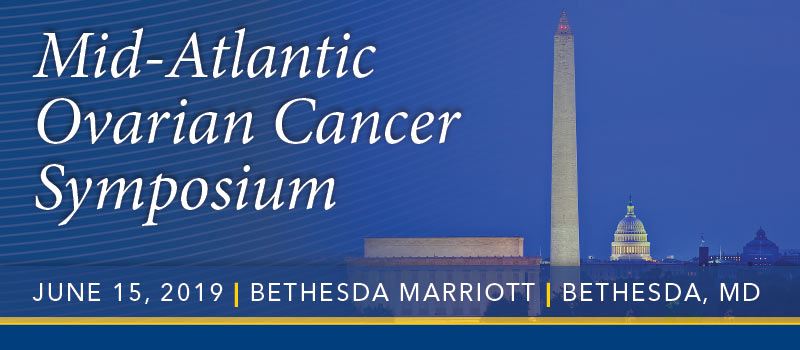 2019 Mid-Atlantic Ovarian Cancer Symposium Banner
