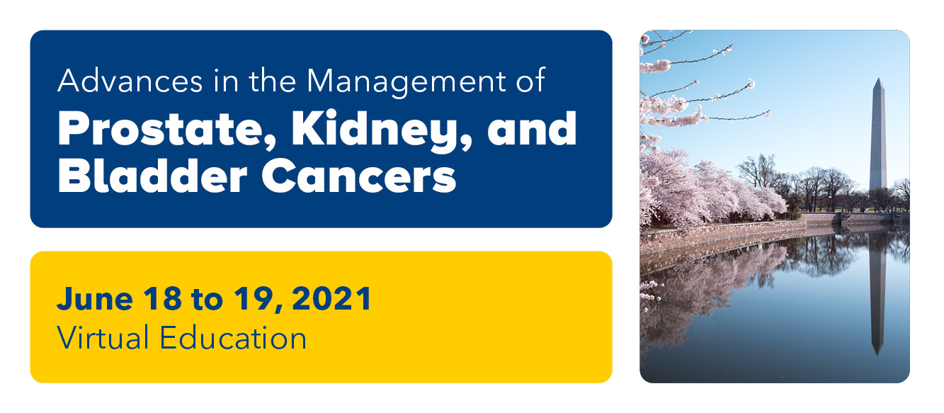 Advances in the Management of Prostate, Bladder and Kidney Cancers - 2021 Banner