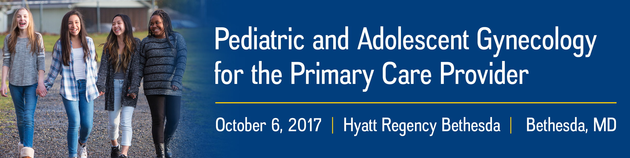 Pediatric and Adolescent Gynecology for the Primary Care Provider 2017 Banner