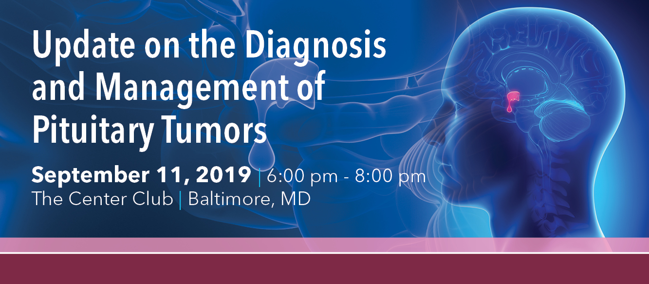 2019 Update on the Diagnosis and Management of Pituitary Tumors Banner