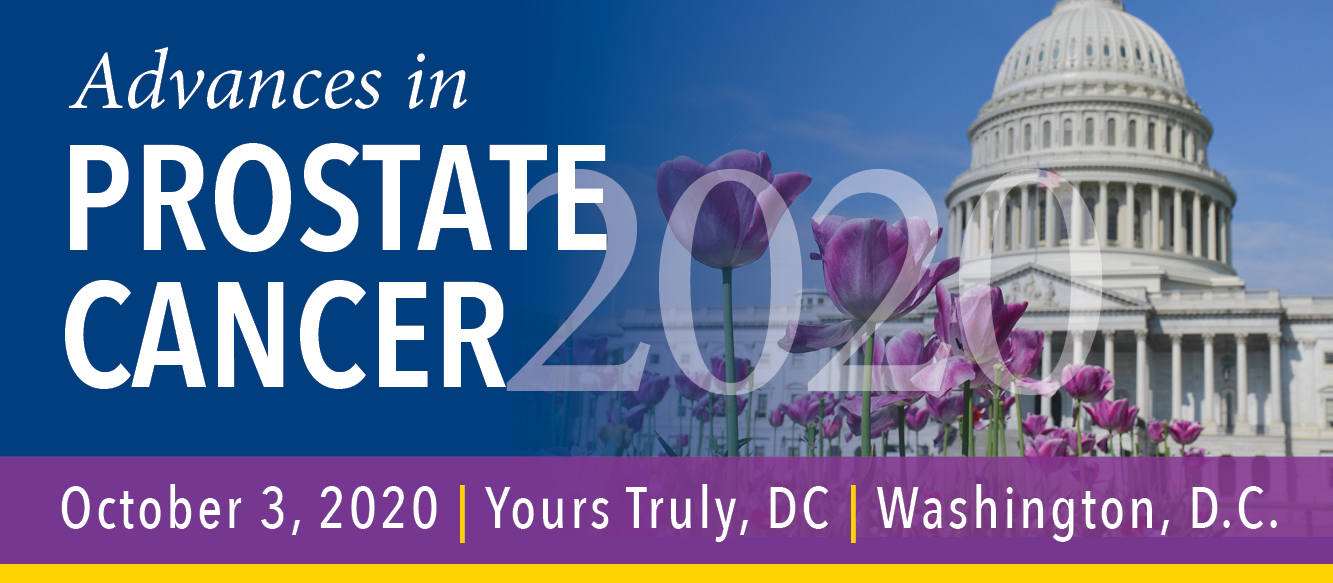 Advances in Prostate Cancer 2020 Banner