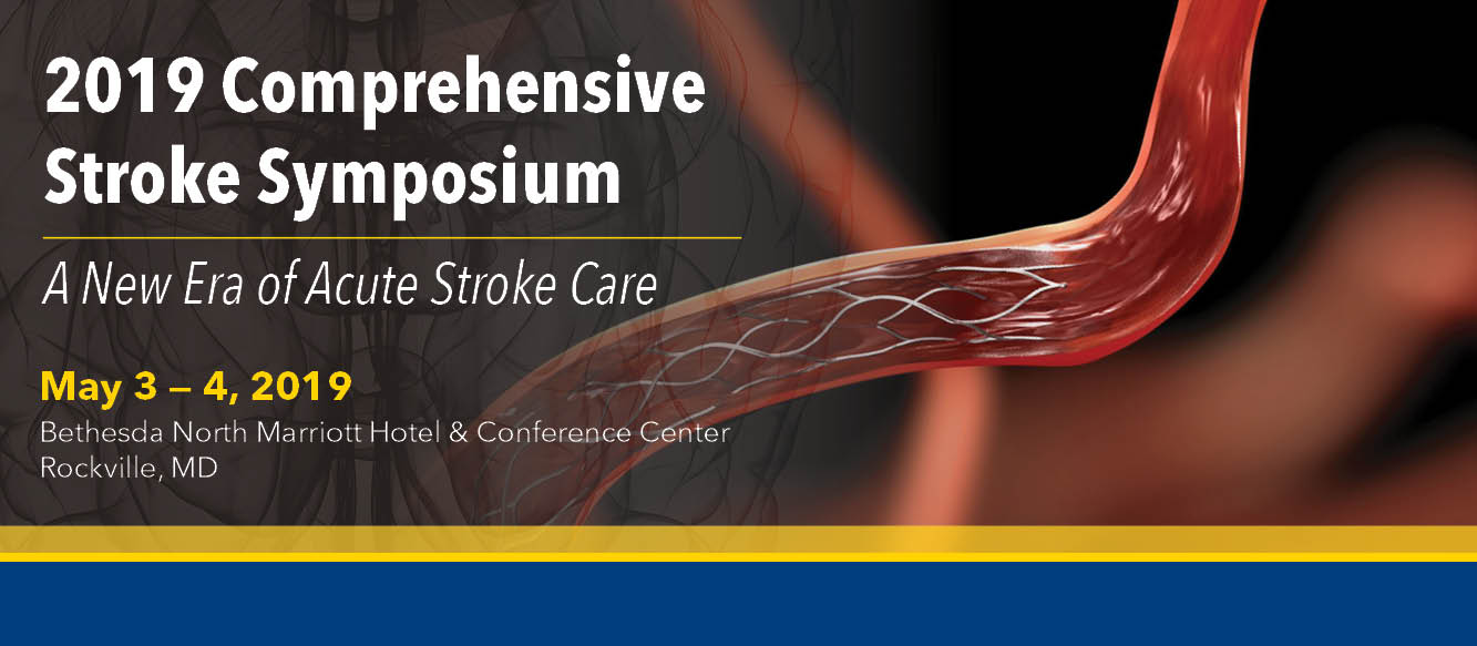 2019 Comprehensive Stroke Symposium: A New Era of Acute Stroke Care Banner