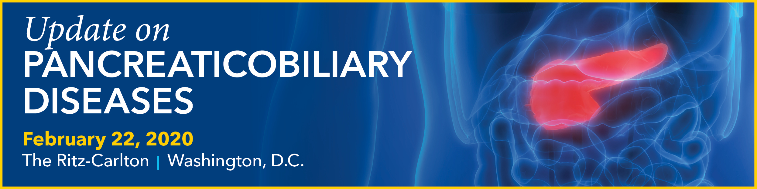 2020 Update on Pancreaticobiliary Diseases Banner
