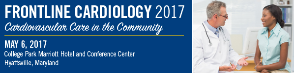 Frontline Cardiology 2017: Cardiovascular Care in the Community Banner